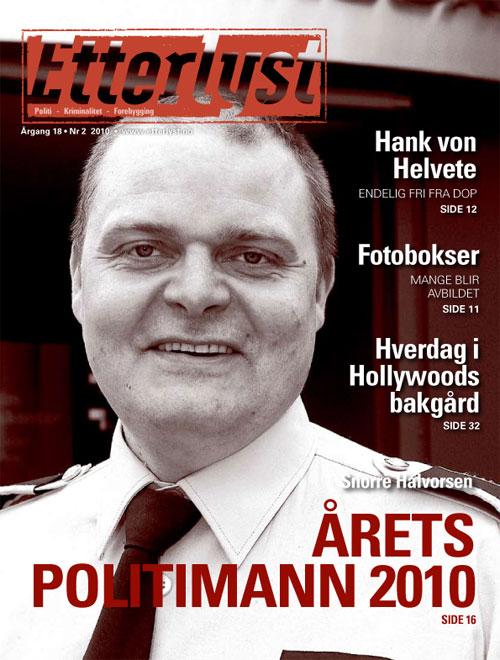 Polisiärt norskt magasin till prenumeranter