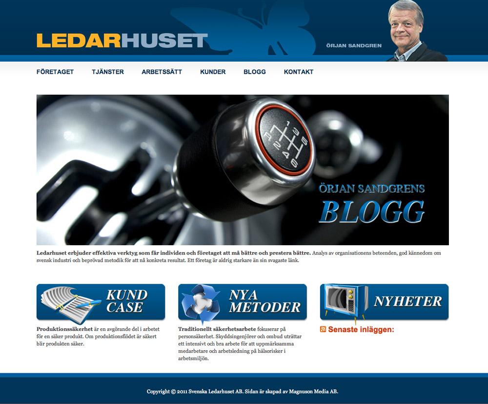 Websida för ledartränare