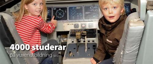 Utbildningstidning i Corren åt Linköping kommun