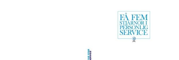 Profilmaterial för Five Star Service