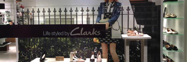 Kampanj åt Clarks skor i Jernsbutikerna 2015